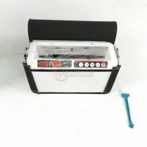 Мобилна банкнотоброячна машина с акумулатор и чанта