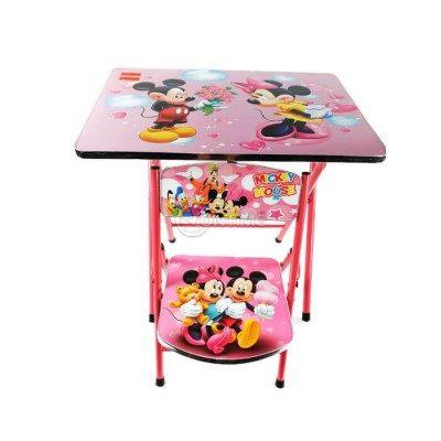 Детска маса и стол Мики и Мини Маус за момиче