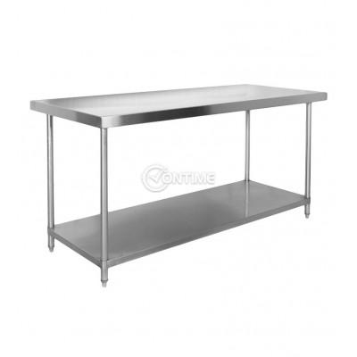 Помощна маса за професионална кухня 120 х 60 х 80 см