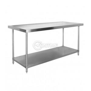 Помощна маса за професионална кухня 200 х 60 х 80 см