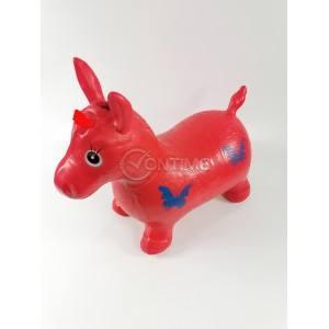 Гумена играчка магаре за скачане