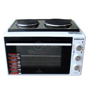 Готварска печка Gamalux 1 x 1000W + 1 x 1500W I-08 HP WHITE