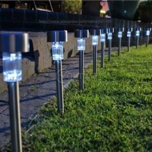 Соларна градинска лампа, 6 часа издържливост