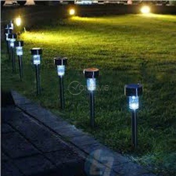 Соларна градинска лампа, 6 часа