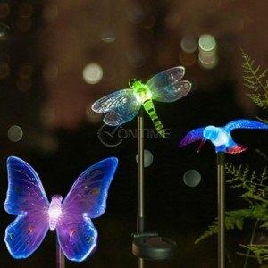 Соларна лампа, пеперуда, водно конче