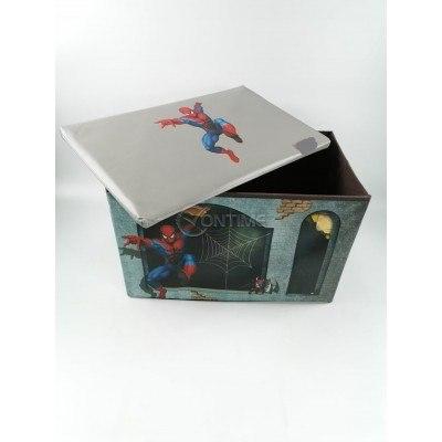 Детска кутия за играчки - Табуретка - Спайдърмен