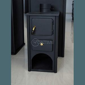 Печка МИНИ-B 5kW, 33 х 45 х 61см, Стоманен плот
