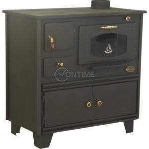 Готварска печка Перфект 10kW,  80 х 45 х 81см,  с чугунен плот