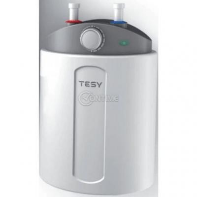 Бойлер TESY, Стъклокерамичен, 6л, 1500W, регулируем термостат, GCU 06 15 M01 RC, под мивка