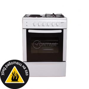 Готварска печка (ток/газ) Crown CR-6060V