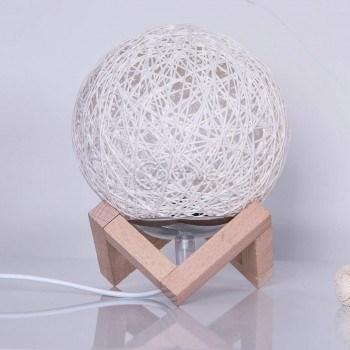 Настолна лед лампа ратан