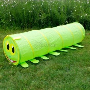 Детска палатка за игра тунел във формата на гъсеница