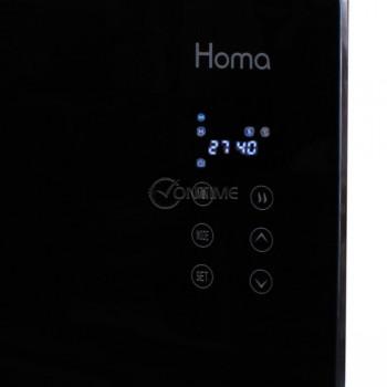 Конвекторна печка HOMA, стъклен панед, LED дисплей