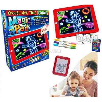 Светещ неонов таблет за рисуване Меджик Пад/ Magic Pad