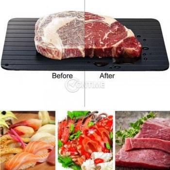 Дъска за бързо размразяване на месо, риба, хранителни продукти