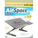 Лаптоп маса Air Space, вграден охладител, регулируема височина
