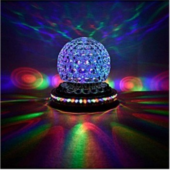 Бар диско лампа с колонка, bluetooth, usb, дистанционно