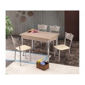 Трапезна разтегателна маса с 4 стола ОКЕАН ТРАКИЯ- КОРДОБА