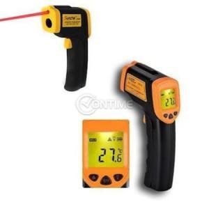 Безконтактен термометър за работа -50 до 360 °C
