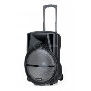 """Аудио караоке система Crown XBS-450BM, 15"""", 450W"""