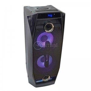 Караоке аудио система Crown XKV-6088TW, безжичен микрофон, 350W, 2 х 8 + 2 високи