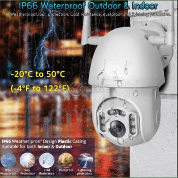 Външна wifi камера 5MP FULL HD 1080P