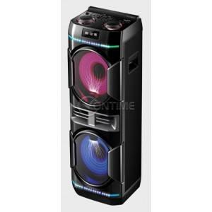 Аудио система Finlux PBS-80102L, безжичен микрофон, 2 говорителя