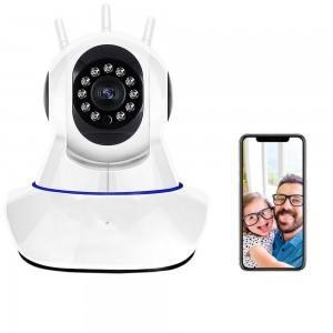 Wifi smart камера V380, въртяща се на 360 градуса