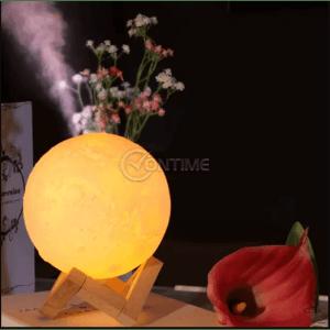 Овлажнител на въздух - ароматизатор, лампа луна