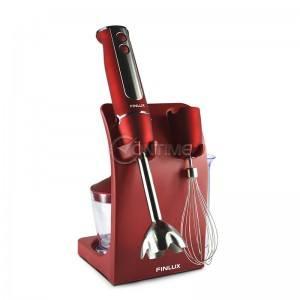 Блендер, пасатор, чопър 5 в 1 Finlux FHB-848SET5 RED