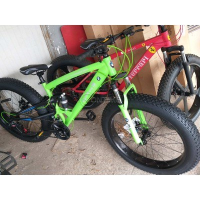 Велосипед Фетбайк 26 цола, амортисьор, 21 скорости