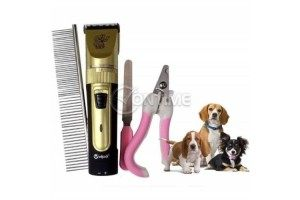 Машинка за подстригване на кучета и котки Sonar, керамичен нож, ножица, пила