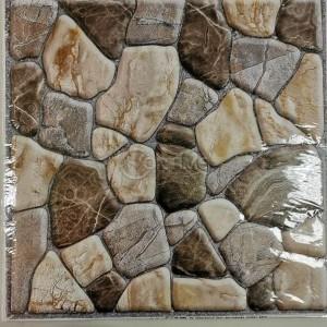 Тапет 3D камък, 51 х 51см, самозалепване