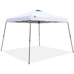 Шатра за плаж 3 х 3, UV защита, сгъваема, сак с колела