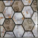 3D самозалепващ тапет плочки 51/51см