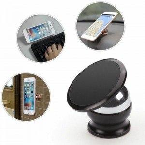 Универсална магнитна стойка за телефон, 360° ротация