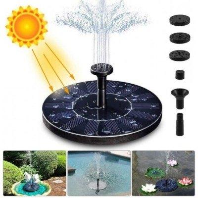 Соларен фонтан, 4 накрайника