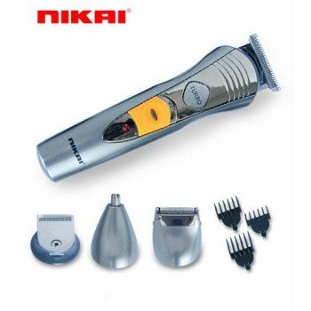 Тример за цяло тяло 7 в 1 Nikai, акумулаторна батерия, Turbo