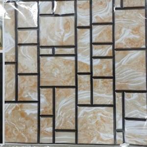 Тапет 3D мраморен дизайн, 51/51см, самозалепване