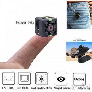 Мини спортна камера SQ11 Full HD, 200 mAh, USB, TF