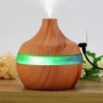 Мини овлажнител и ароматизатор за въздух, LED светлина