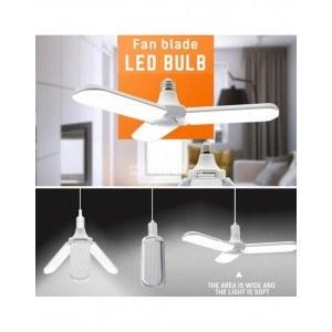 LED лампа форма вентилатор, сгъваема, 36W