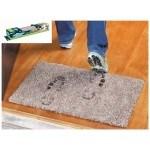 Силно абсорбиращо мръсотия килимче за входна врата 70 х 45см