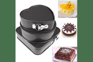 Комплект форми за печене на торта 3 броя