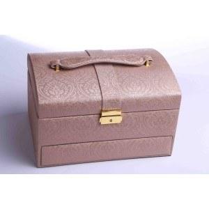 Куфар за бижута, цвят бронз, 27/16.5/20, B21