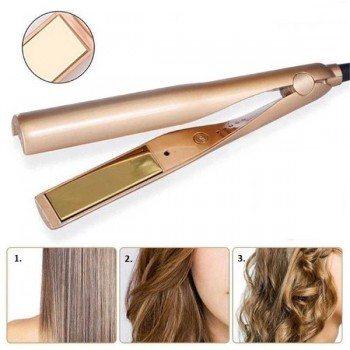 Преса за къдрене и изправяне на коса 2в1