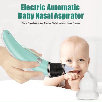 Аспиратор за нос с акумулаторна батерия