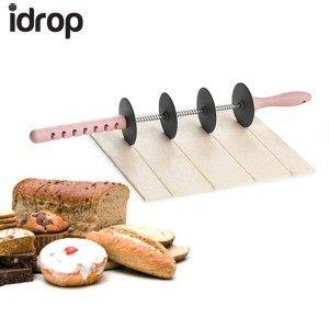 Уред за рязане на тесто, 4 ножа, регулиране на размера