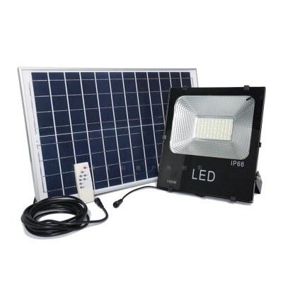 Led прожектор 100W, соларен панел, дистанционно