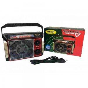 Радио Meier MD-9393, акумулаторна батерия, USB/TF, AUX